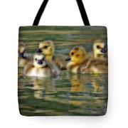 Momma's Little Gooslings Tote Bag