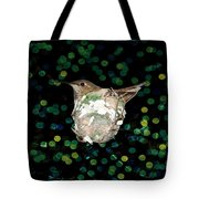 Mommy Hummingbird In The Nest Tote Bag