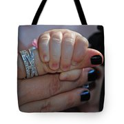 Mommy Is Here Tote Bag