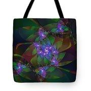 Mom's African Violets Tote Bag