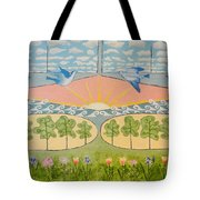 Do You See Love? By Marian Krause Tote Bag