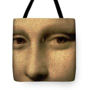 Mona Lisa    Detail Tote Bag by Leonardo Da Vinci