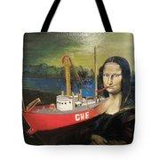 Mona Lisa Unfinished Tote Bag