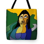 Mona Lisa Updated Tote Bag