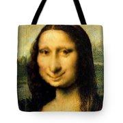 Mona Lisas Twin Sister Tote Bag