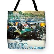 Monaco F1 Grand Prix 1968 Tote Bag