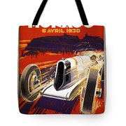 Monaco Grand Prix 1930 Tote Bag