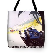 Monaco Grand Prix 1933 Tote Bag