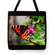 A Monarch In Ireland # 2 Tote Bag