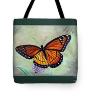 Viceroy Butterfly By George Wood Tote Bag
