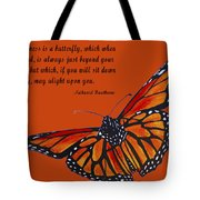 Monarch Butterfly Pismo Beach Tote Bag