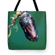 Monarch Butterfly Ready To Emerge Tote Bag