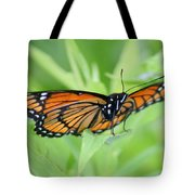 Monarch Butterfly Rocking Chair Tote Bag