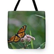Monarch Perch Tote Bag