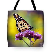 Monarch With Sunflower Tote Bag