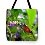 Monarch With Sweet Nectar Tote Bag