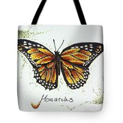 Monarchs - Butterfly Tote Bag