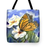 Monarchs In The Gardens Tote Bag