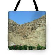 Monastary On The 40-day Mountain Tote Bag