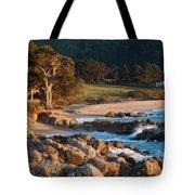 Monastery Beach In Carmel California Tote Bag
