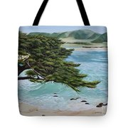 Monastery Beach Tote Bag