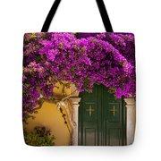 Monastery Door Tote Bag