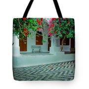 Monastery Symi Greece Tote Bag