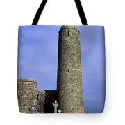Monastic Round Tower Tote Bag