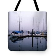 Monday Morning Tote Bag by Skip Willits