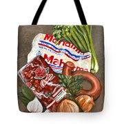 Monday's Tradition - Red Beans And Rice Tote Bag