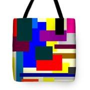 Mondrian Composition Tote Bag
