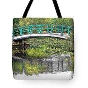 Monet Bridge Tote Bag