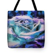 Monet Frosted Rose Tote Bag