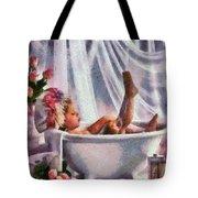 Monet Hunny Bunny Tote Bag