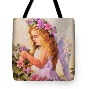 Monet Silked Angel Tote Bag