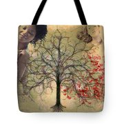 Monet Splashed Petals Tote Bag
