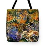Monet Under Water Tote Bag