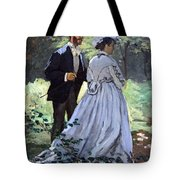 Monet's Bazille And Camille Tote Bag