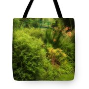 Monet's Garden Dreamscape Tote Bag