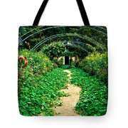 Monet's Gardens At Giverny Tote Bag