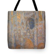 Monet's Rouen Cathedral -- West Facade Tote Bag