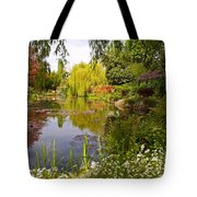 Monet's Water Garden 2 At Giverny Tote Bag