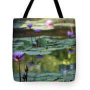 Monet's Waterlily Pond Number Two Tote Bag