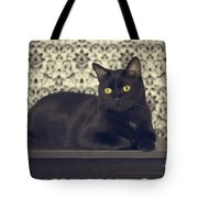 Mongo The Robust Cat Tote Bag