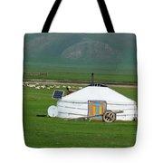 Mongolian Living Tote Bag