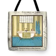 Monique Bath 2 Tote Bag by Debbie DeWitt