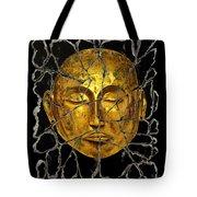 Monk In Meditation Tote Bag