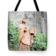 Monk Of St Goar Tote Bag