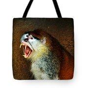 Monkey Fangs Tote Bag