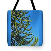 Monkey Puzzle Tree Tote Bag